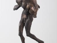 mann-mit-schwein-bronze-2016h-33cm